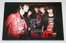 SHINee - 2009, Year Of Us (3rd Mini Album) TAEMIN's AUTOGRAPHED CD