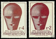 CHILE, 1970, INTERNATIONAL YEAR OF THE EDUCATION, MNH