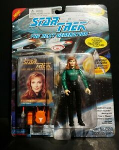 Dr Bev Crusher 7th Season Series Duty Uniform Star Trek Next G Playmates TNG 94