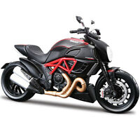 Maisto 31196 1:12 DUCATI Diavel Carbon Motorcycle Diecast Model Unopened Box Toy