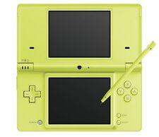 Nintendo DSi Lime Green TWL-001 Handheld System Game Console Pen Japan TWL-S-LMA
