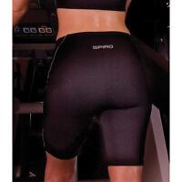 Spiro Ladies Sprint Training Shorts Womens Gym Fitness Training Running Tights