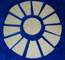 "CUSTOM STARGATE COVER STONE FIGURE SIZE STAR GATE MOVIE 14.5"" UNPAINTED REPLICA"