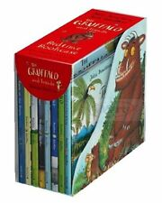 NEW The Gruffalo and Friends Bedtime Bookcase 8 Book Set Julia Donaldson
