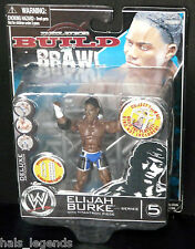 WWE Deluxe Build n Brawl. Series 5. ELIJAH BURKE. Rare! New!