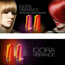 schwarzkopf igora vibrance hair color 60ml semi permanent Activator tone on ton