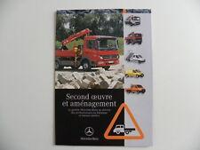 Brochure camion MERCEDES-BENZ second oeuvre et aménagement de 01 / 2007