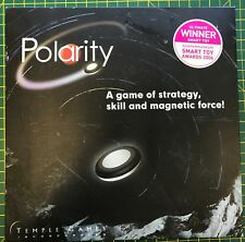 Polarity - Magnetic Strategy Game - 2006 - Temple Games - Square Box Edition VGC