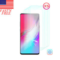 For Samsung Galaxy S10 5G Clear Full-cover Fingerfrint Unlock Screen Protector