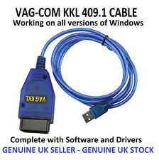 VAG KKL 409.1 Lite USB Cable OBD2 II OBD ECU Diagnostic Cable FD232B FTDi Chip