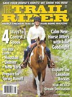 Trail Rider Magazine Day Ride Guide Canadian Rockies Horse Jitters Runoff 2012