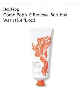 HOLIFROG Como Popp-E Renewal Scrubby Face Wash NEW in Box $40