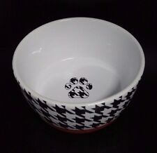Furry Friends Ceramic Rubber Bottom Food Water Pet Bowl Small 5 Inch Db657-05Ht