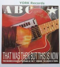 """ABC - That Was Then But This Is Now - Excellent Con 12"""" Single Neutron NTX 105"""
