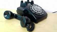More details for vintage bell system western electric black rotary dial telephone working