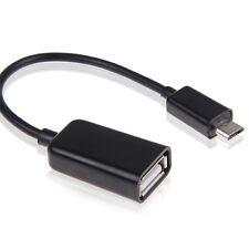 USB OTG - On-The-Go - Host Adapterkabel   MicroUSB B Stecker auf Typ A Buchse