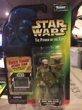 MOC Star Wars Endor Rebel Soldier Power Of The Force Freeze Frame Army .00 Error