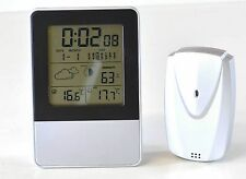 iBoutique Precision Weather Station Alarm Clock In Out Temperature Calender Date