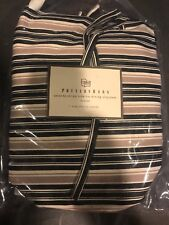 NEW Pottery Barn Slipcover Veranda Stripe Sidetie Dining Slip Cover Chair Cover