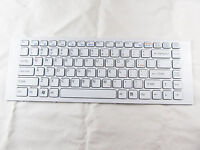 GENUINE for SONY VAIO 148970211 WHITE US KEYBOARD WITH FRAME