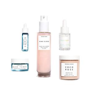 NEW HERBIVORE Cloud 9 Set Face Cleanser, Body Polish, Prism, Lapis, Blue Tansy