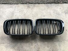 BMW E46 3 Series Gloss Black Kidney Grills For Saloon Pre Facelift