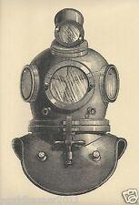 Vittoriana Steampunk Deep Sea Diving Diver Casco Tuta a vapore Ocean Punk Gothic
