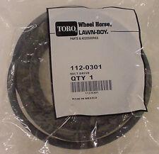 TORO Genuine OEM Transmission Belt 112-0301 LX500 LX420 LX423 LX460 LX425 LONG