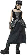 GOTHIC PRINCESS COSTUME Girls Large 12-14 Halloween Child Vampire Goth Black NEW