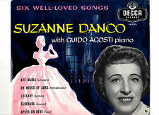 """CLASSICAL.SUZANNE DANCO.SIX WELL-LOVED SONGS.UK ORIG 10"""" LP+LYRIC INSERT/BAG.EX+"""