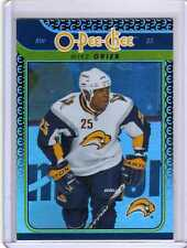 MIKE GRIER 09/10 OPC O-Pee-Chee Update Gold Rainbow #712 Buffalo Sabres Card
