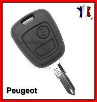 Coque PLIP Télécommande Clé Pour Peugeot 106, 107, 206, 307