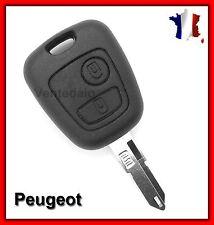 Coque PLIP Télécommande Clé Peugeot 106, 107, 206, 307 Livraison Rapide!
