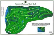 Hazeltine National Golf Club -1962 Robt Trent Jones-a VintageGolfCourseMap