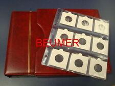 Album  NUMIS, Beumer; con 20 Hojas 9 cartones .Negro.