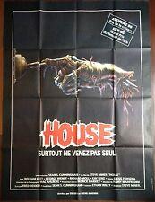 Affiche cinéma originale  House format 120 x 160