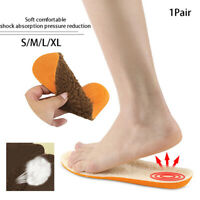 1pairs Sheepskin Insoles Soft Warm Winter Thick Inner Soles Wool Shoes Boot P Px