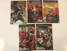 Lot of 5 Captain America Steve Rogers #2 3 4 5 6 Marvel Comics (2016)