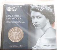 2018 Royal Mint Sapphire Coronation BU £5 Five Pound Coin Pack Sealed