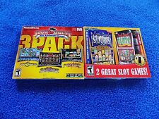 NEW 2X LOT PC Slot Quest Slot Adventure Games,& REEL DEAL SLOTS COMBO PACK