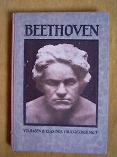 """Beethoven"" dal Prof. Ferdinando Pfohl (1926)"