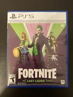 Fortnite The Last Laugh Bundle Playstation 5 Ps5 Code Brand New Opened