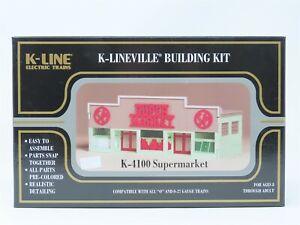 O Scale K-Line K-4100 Supermarket Building Kit Sealed