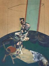Francis Bacon, Portrait of George Dyer Staring at Blind-Cord 1966, Signed Litho