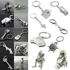 Charm Keyring Keychain Silver Color Key Ring Chain Keyfob Gift Gadget Fashion