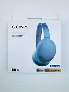 Sony WH-CH710N/W Wireless Bluetooth Noise Cancelling Headphones Blue **OpenBox**
