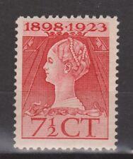 NVPH Netherlands Nederland 123 MLH 1923 Wilhelmina Pays Bas