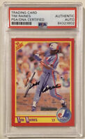 1990 Score TIM RAINES Signed Autographed Baseball Card #409 PSADNA Montreal Expo