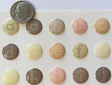 POSH ALPHABET GEL CANDY Epoxy Stickers(63pc)Ki Memories•Letter•Lower-Case•Number