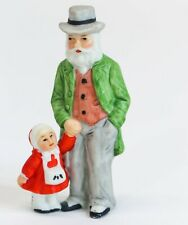 1987 Lefton Colonial Village Grandpa Eberhardt 05827 Christmas Granddaughter